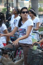 2011 Miss Hyderabad Team participates in Go Green Ride on 1st October 2011 (105).JPG