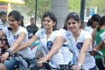 2011 Miss Hyderabad Team participates in Go Green Ride on 1st October 2011 (109).JPG