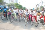2011 Miss Hyderabad Team participates in Go Green Ride on 1st October 2011 (110).JPG