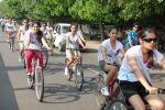 2011 Miss Hyderabad Team participates in Go Green Ride on 1st October 2011 (113).JPG
