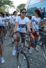 2011 Miss Hyderabad Team participates in Go Green Ride on 1st October 2011 (67).JPG
