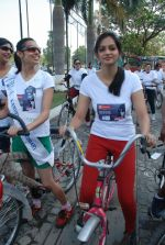 2011 Miss Hyderabad Team participates in Go Green Ride on 1st October 2011 (69).JPG