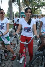 2011 Miss Hyderabad Team participates in Go Green Ride on 1st October 2011 (70).JPG