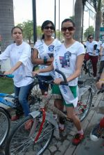 2011 Miss Hyderabad Team participates in Go Green Ride on 1st October 2011 (71).JPG