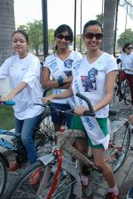 2011 Miss Hyderabad Team participates in Go Green Ride on 1st October 2011 (72).JPG