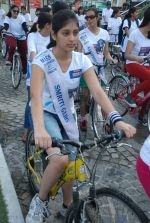 2011 Miss Hyderabad Team participates in Go Green Ride on 1st October 2011 (75).JPG