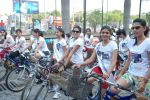 2011 Miss Hyderabad Team participates in Go Green Ride on 1st October 2011 (92).JPG