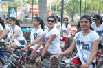 2011 Miss Hyderabad Team participates in Go Green Ride on 1st October 2011 (93).JPG