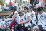 2011 Miss Hyderabad Team participates in Go Green Ride on 1st October 2011 (95).JPG