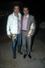 Rohit Roy at Manish Goswami_s bash in Sun N Sand on 9th Oct 2011 (35).JPG