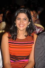 Deeksha Seth attends Ilayaraja Live Concept Preview Play on 4th October 2011 (12).jpg