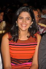 Deeksha Seth attends Ilayaraja Live Concept Preview Play on 4th October 2011 (13).jpg