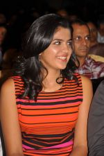 Deeksha Seth attends Ilayaraja Live Concept Preview Play on 4th October 2011 (14).jpg