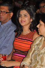Deeksha Seth attends Ilayaraja Live Concept Preview Play on 4th October 2011 (4).jpg