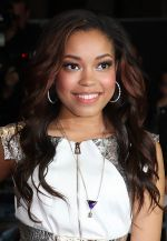 Dionne Bromfield arrives to the UK Premiere of Demons Never Die in Odeon West End, Leicester Square on 10th October 2011 (2).jpg