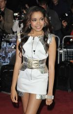 Dionne Bromfield arrives to the UK Premiere of Demons Never Die in Odeon West End, Leicester Square on 10th October 2011 (3).jpg