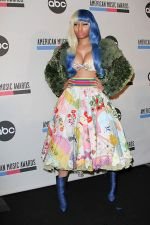 Nicki Minaj attends the 2011 American Music Awards Nominees Press Conference in JW Marriott Los Angeles on 11th October 2011 (1).jpg