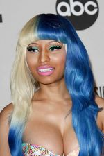 Nicki Minaj attends the 2011 American Music Awards Nominees Press Conference in JW Marriott Los Angeles on 11th October 2011 (3).jpg
