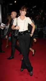 Tara Palmer-Tomkinson arrives to the UK Premiere of Demons Never Die in Odeon West End, Leicester Square on 10th October 2011 (1).jpg