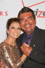 Eva Longoria and George Lopez arrives to the 11th Annual Padres Contra El Cancer_s _El Sueno De Esperanza_ Gala in Tropicana Las Vegas on 15th October 2011 (1).jpg