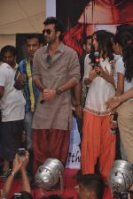 Ranbir Kapoor and Nargis Fakri promote Rockstar in MMK College on 19th Oct 2011 (17).JPG