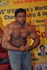 Aashish Sawarkar at the Official Announcement of Mr Universe 2011 in Mumbai on 24th Oct 2011.JPG