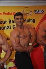 Mandar Chavarkar at the Official Announcement of Mr Universe 2011 in Mumbai on 24th Oct 2011.JPG