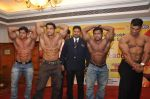 Mr. Sanjay More with contestant at the Official Announcement of Mr Universe 2011 in Mumbai on 24th Oct 2011.JPG