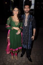 Neeru Singh, Chirag Paswan at Diwali celebrations to promote Miley Na Miley Hum in Fame on 24th Oct 2011 (9).JPG