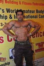 Suhas Khamkar at the Official Announcement of Mr Universe 2011 in Mumbai on 24th Oct 2011.JPG