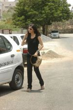 Vedika on Sets of a movie (1).JPG