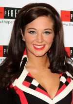 Tulisa Contostavlos Launches Her New fragrance _The Female Boss_ at the Perfume Shop in London on October 26, 2011 (2).jpg