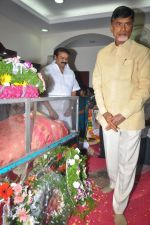 Chandrababu Naidu attends Dasari Padma Condolences and Funeral on 28th October 2011 (12).JPG