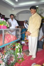 Chandrababu Naidu attends Dasari Padma Condolences and Funeral on 28th October 2011 (13).JPG