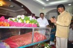 Chandrababu Naidu attends Dasari Padma Condolences and Funeral on 28th October 2011 (15).JPG