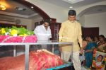 Chandrababu Naidu attends Dasari Padma Condolences and Funeral on 28th October 2011 (18).JPG