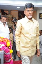Chandrababu Naidu attends Dasari Padma Condolences and Funeral on 28th October 2011 (3).JPG