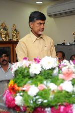 Chandrababu Naidu attends Dasari Padma Condolences and Funeral on 28th October 2011 (4).JPG