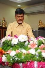 Chandrababu Naidu attends Dasari Padma Condolences and Funeral on 28th October 2011 (5).JPG