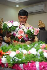 Chandrababu Naidu attends Dasari Padma Condolences and Funeral on 28th October 2011 (7).JPG