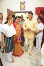 Chandrababu Naidu attends Dasari Padma Condolences and Funeral on 28th October 2011 (9).JPG