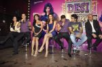 Akshay Kumar, Chitrangda Singh, Rohit Dhawan, Deepika Padukone, John Abraham, Krishika Lulla at Desi Boyz music launch in Enigma on 7th Nov 2011 (51).JPG