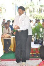 Nandamuri Balakrishna at Dasari Padma Pedda Karma on 6th November 2011 (4).JPG