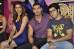 Rohit Dhawan, Deepika Padukone, John Abraham at Desi Boyz music launch in Enigma on 7th Nov 2011 (40).JPG
