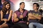 Rohit Dhawan, Deepika Padukone, John Abraham at Desi Boyz music launch in Enigma on 7th Nov 2011 (62).JPG