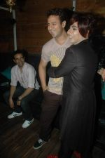 Aryan Vaid, Rohit Verma at Rohit Verma birthday with fashion show in Novotel, Mumbai on 8th Nov 2011 (61).JPG