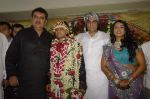 Rani Chatterjee, Raza Murad, Ali Khan at Bhojpuri actress Rani Chatterjee_s sister_s wedding in Mira Road on 11th Nov 2011 (46).JPG
