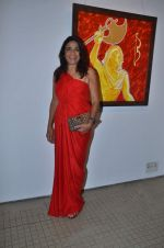 rashmi uday singh at Bharat Tripathi_s art exhibition in Musuem Art Gallery on 14th Nov 2011 (5).JPG