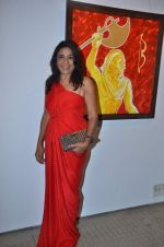 rashmi uday singh at Bharat Tripathi_s art exhibition in Musuem Art Gallery on 14th Nov 2011 (4).JPG
