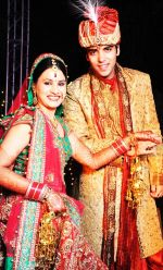 Kinshuk Mahajan got married to his girlfriend Divya Gupta in Delhi on 12th November 2011 (18).jpg